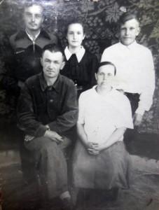 Герман с семьей