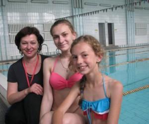 Да выздараўлення – праз плаванне