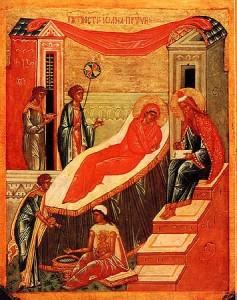 7 июля — Рождество честного славного Пророка, Предтечи и Крестителя Господня Иоанна