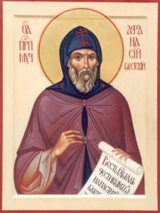 Святой покровитель Брестской земли