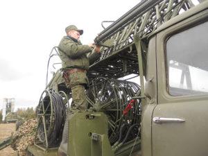 Полевой выход – важнейший этап  подготовки военнослужащих.