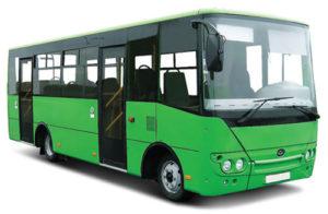 Расписание движения автобуса городского маршрута с 08.01.2018 года