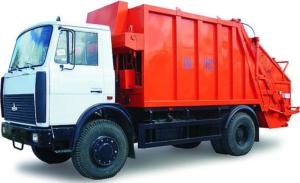 График вывоза твёрдых коммунальных отходов (г. Жабинка)
