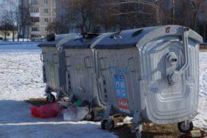 О мусорных баках замолвите слово