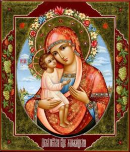 23 апреля в Жабинке будет пребывать чтимая копия чудотворной  иконы Божией Матери «Жировичская»