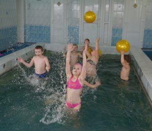 У басейн –  па здароўе і радасць